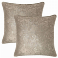 "GOLD GLITTER SPECKLED GOLD NATURAL VELVET 18"" CUSHION COVER £6.99 EACH OR PAIR"